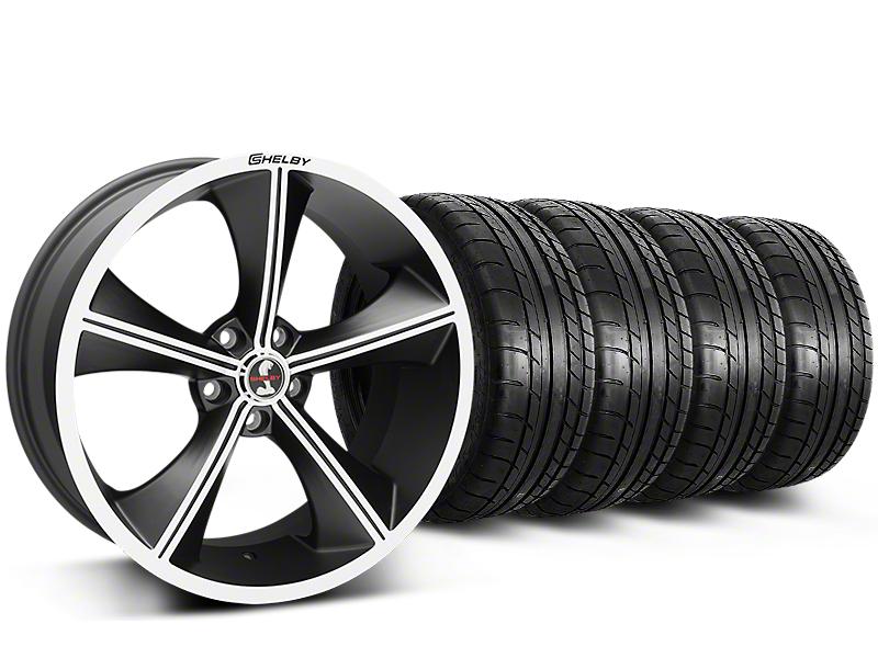 Shelby CS70 Matte Black Wheel & Mickey Thompson Tire Kit - 20x9 (15-17 All)