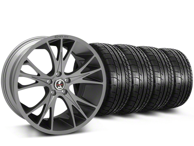 Shelby CS1 Gunmetal Wheel & Mickey Thompson Tire Kit - 20x9 (15-17 All)