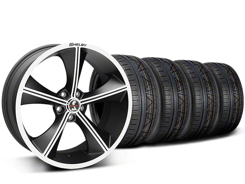 Shelby CS70 Matte Black Wheel & NITTO INVO Tire Kit - 20x9 (15-18 All)