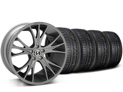 Staggered Shelby CS1 Gunmetal Wheel & NITTO INVO Tire Kit - 20x9/11 (15-18 All)
