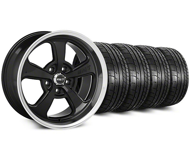 Staggered Mickey Thompson Street Comp SC-5 Wheel & Mickey Thompson Tire Kit - 20 in. - 2 Rear Options (15-19 All)