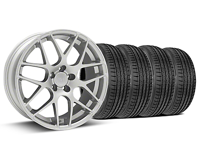 AMR Silver Wheel & Sumitomo Tire Kit - 19x8.5 (15-17 All)
