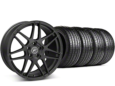 Forgestar F14 Monoblock Matte Black Wheel & Sumitomo Tire Kit - 19x9 (15-17 All)