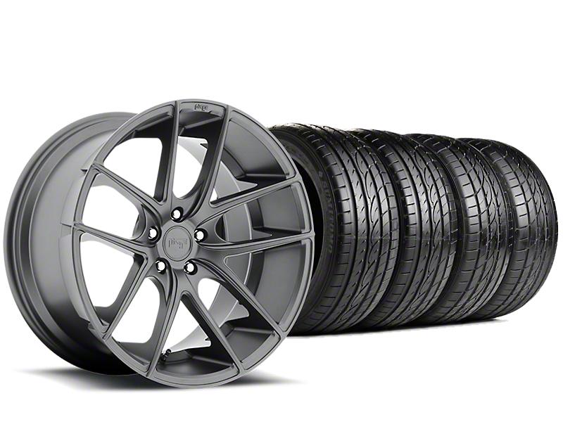 Niche Targa Matte Anthracite Wheel & Sumitomo Tire Kit - 19x8.5 (15-18 GT, EcoBoost, V6)