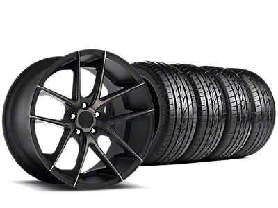 Niche Targa Black Wheel & Sumitomo Tire Kit - 19x8.5 (15-17 GT, EcoBoost, V6)