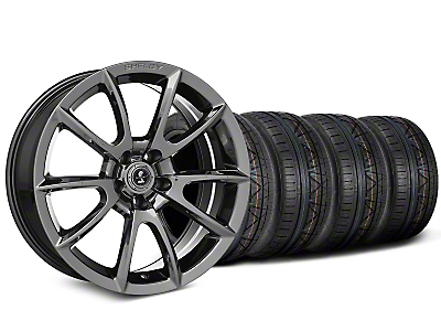Shelby Super Snake Style Chrome Wheel & NITTO INVO Tire Kit - 19x8.5 (15-18 All)