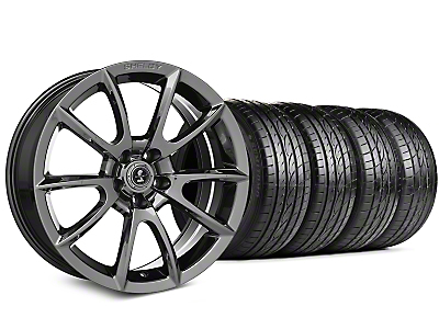 Staggered Shelby Super Snake Style Chrome Wheel & Sumitomo Tire Kit - 19x8.5/10 (15-18 All)