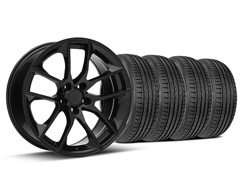 2015 Mustang GT Style Black Wheel & Sumitomo Tire Kit - 19x8.5 (15-17 All)