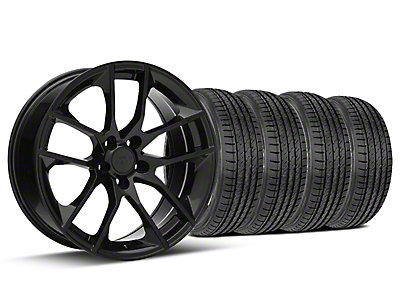 Magnetic Style Black Wheel & Sumitomo Tire Kit - 19x8.5 (15-18 GT, EcoBoost, V6)