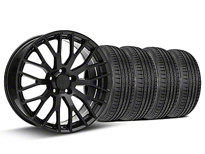 Performance Pack Style Black Wheel & Sumitomo Tire Kit - 19x8.5 (15-18 GT, EcoBoost, V6)