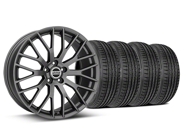 Performance Pack Style Charcoal Wheel & Sumitomo Tire Kit - 19x8.5 (15-18 All)