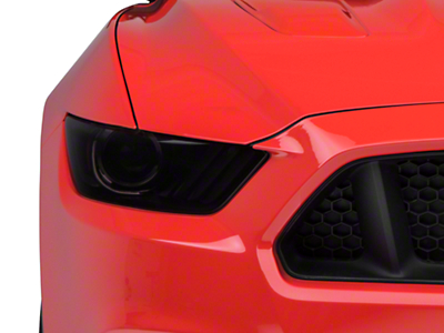 American Muscle Graphics Smoked Headlight Tint Kit (15-17 All; 2018 GT350)