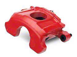 OPR Front Brake Caliper - Red - Driver Side (87-93 5.0L)