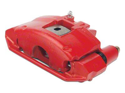 OPR Brake Caliper - Front Left, Red PowderCoat (94-98 All, Excluding Cobra)