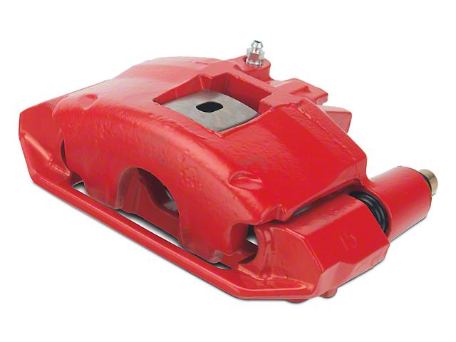OPR Front Brake Caliper with Bracket; Red (94-98 GT, V6)