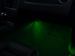 LED Strips - Green (79-18 All) & 2005-2009 Mustang Interior LED Lighting | AmericanMuscle azcodes.com