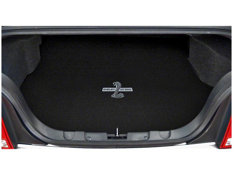 Lloyd Trunk Mat w/ Shelby GT500 Logo - Black (15-19 All)