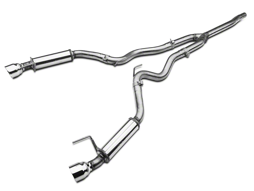 Magnaflow Competition Cat-Back Exhaust (15-19 EcoBoost w/o Active Exhaust)