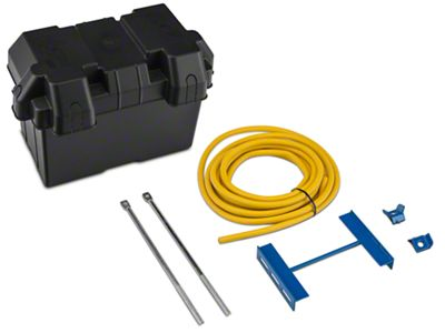 Mr. Gasket Battery Box Relocation Kit (79-14 All)