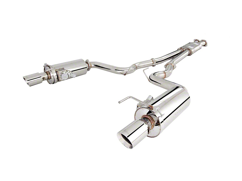 X-Force 3-Inch Varex Cat-Back Exhaust (15-17 GT Fastback)