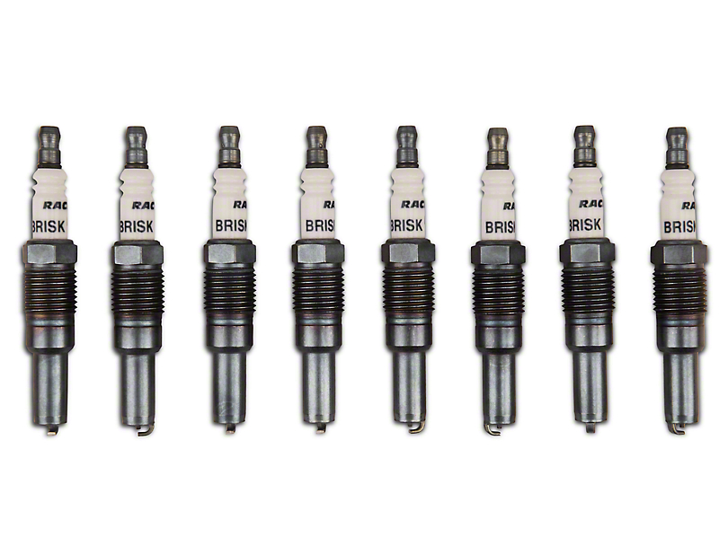 Brisk Silver Racing Spark Plugs - 450-599HP (05-mid 08 GT)