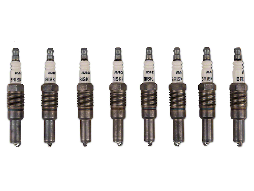 Brisk Silver Racing Spark Plugs - Up to 450HP (05-mid 08 GT)