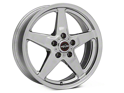Race Star Drag Star Polished Wheel - Direct Drill - 17x7 (87-93 5 Lug Conversion)