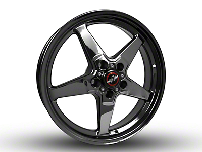 Race Star Dark Star Drag Wheel - 18x5 (15-18 GT, EcoBoost, V6)