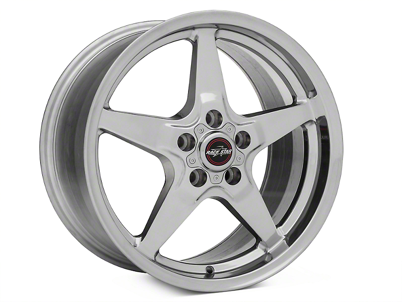 Race Star Drag Star Polished Wheel - Direct Drill - 18x10.5 (05-14 All)
