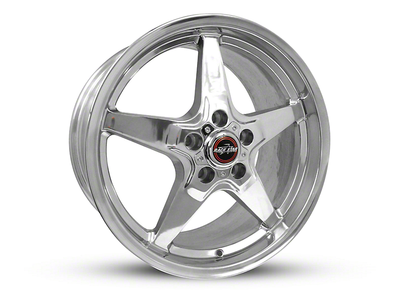 Race Star Drag Star Polished Wheel - Direct Drill - 18x10.5 (15-17 All)