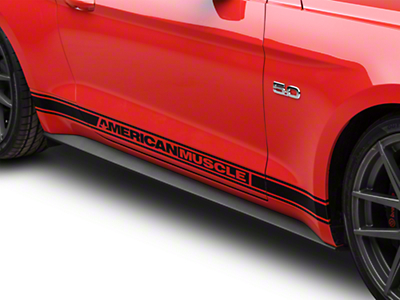 Ford Rocker Molding Panel - Passenger Side (15-18 GT, EcoBoost, V6)