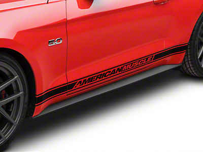 Ford Rocker Molding Panel - Driver Side (15-18 GT, EcoBoost, V6)