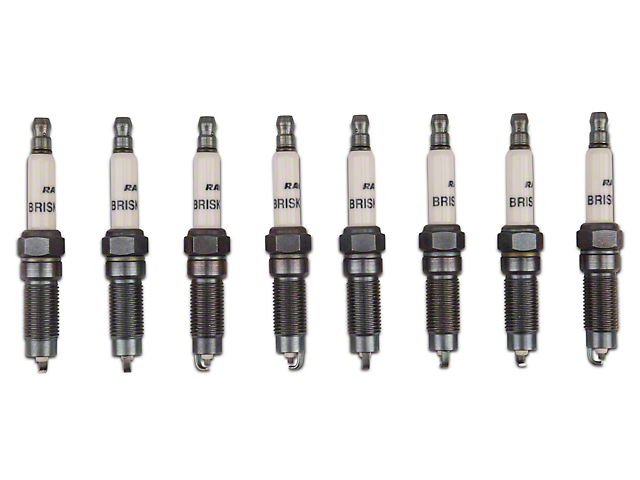 Brisk Silver Racing Spark Plugs - 450HP+ (Mid 08-10 GT)