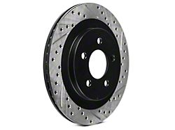 StopTech Sport Cross-Drilled & Slotted Rotors - Rear Pair (05-14 All, Excluding 13-14 GT500)
