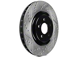 StopTech Sport Cross-Drilled and Slotted Rotors; Front Pair (11-14 GT Brembo; 12-13 BOSS 302; 07-12 GT500)