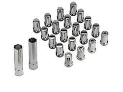 McGard Chrome Tuner Style Lug Nut Kit; Set of 20 (79-14 All)