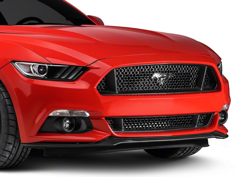 Ford GT Upper Honeycomb Grille w/ Pony Logo (15-17 GT, EcoBoost, V6)