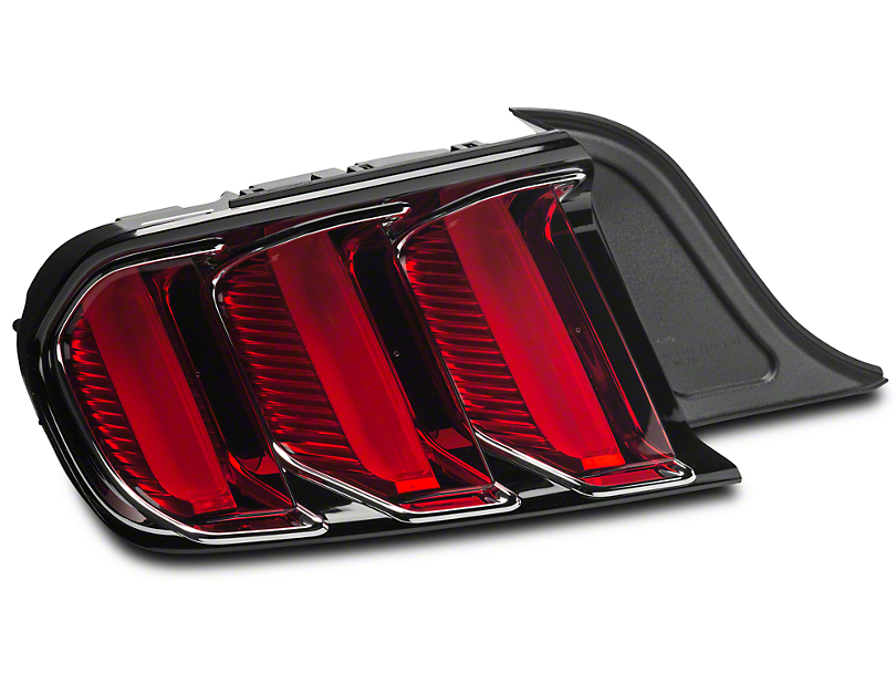 Ford Factory Replacement Tail Light w/ Chrome - Driver Side (15-18 All)