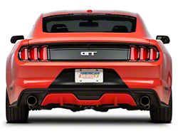 Ford 50th Year Anniversary Factory Replacement Tail Light; Black Housing; Red Lens; Driver and Passenger Side (15-21 All)