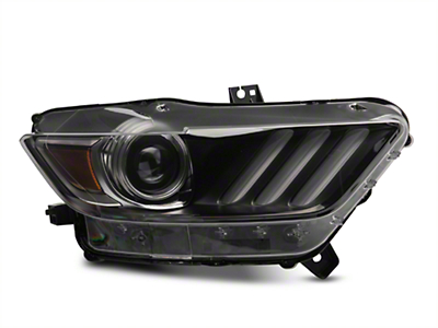 Ford Factory Replacement HID Headlight - Passenger Side (15-17 All; 18-19 GT350)