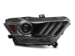 Ford Factory Replacement HID Headlight - Passenger Side (15-17 All; 18-20 GT350, GT500)