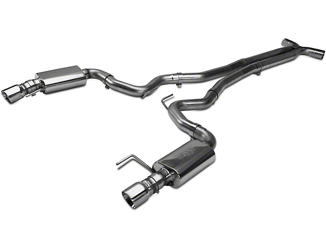 Kooks Cat-Back Exhaust w/ X-Pipe (15-17 GT Fastback w/ Kooks Headers)