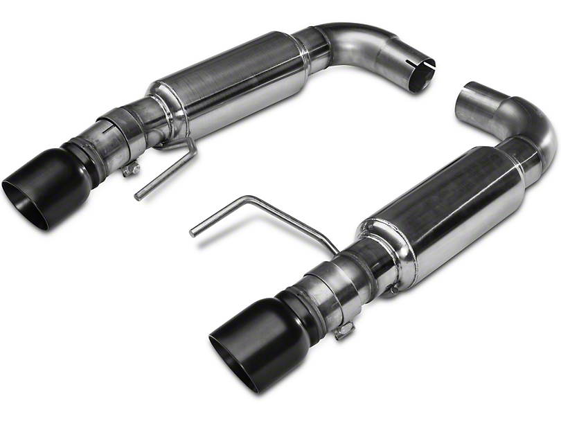 Kooks Axle-Back Exhaust w/ Black Tips (15-17 GT Fastback)