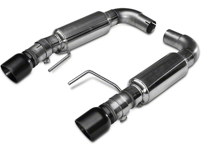 Kooks Axle-Back Exhaust - Black Tips (15-17 GT Fastback)