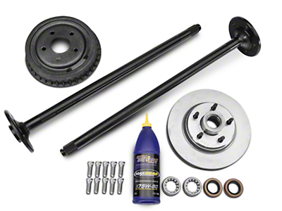 SR Performance Complete 5-Lug Conversion Kit - 28 Spline (87-93 5.0L)