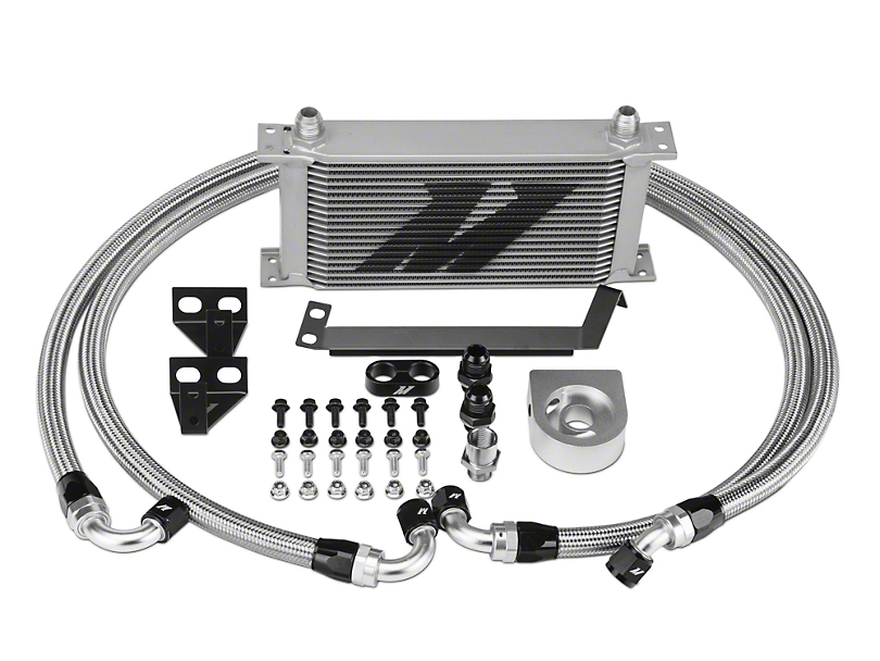 Mishimoto Performance Oil Cooler - Silver (15-18 EcoBoost)