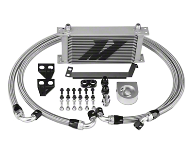 Mishimoto Performance Oil Cooler - Silver (15-17 EcoBoost)