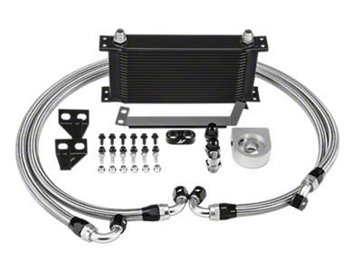 Mishimoto Performance Oil Cooler - Black (15-18 EcoBoost)