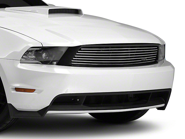 MMD by FOOSE Billet Upper Replacement Grille - Polished (10-12 GT)