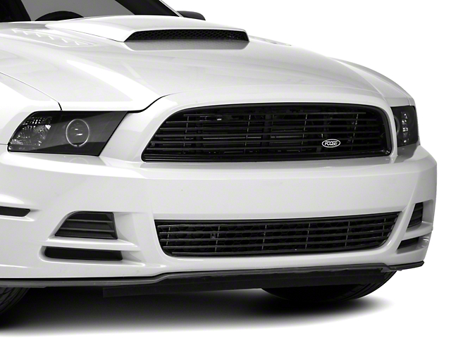 MMD by FOOSE Billet Upper Replacement Grille - Black (13-14 V6)
